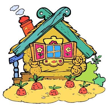 Раскраски дома, здания, избушки, сказочные домики
